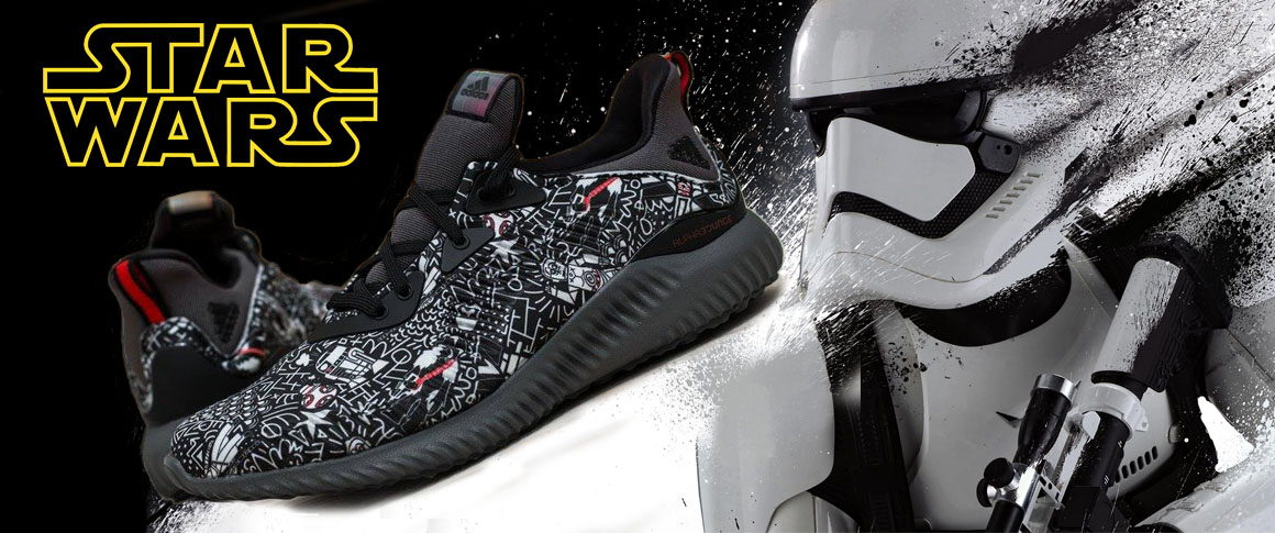 zapatillas star wars adidas alphabounce