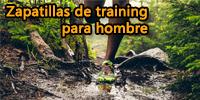 Zapatillas de training hombre baratas